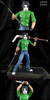 IDW comic style Casey Jones Figure