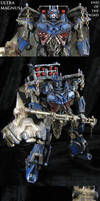 End of the Road custom Ultra Magnus Transformers