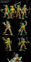 Custom TMNT 2012 figure set