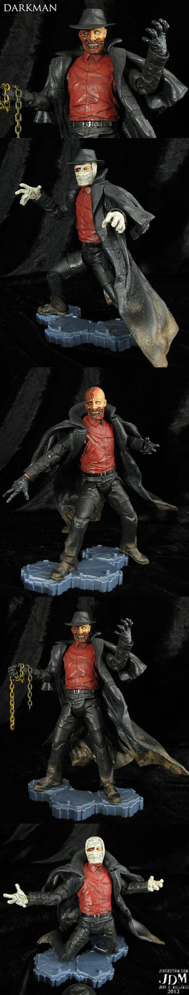 Custom Darkmanm Vers 3.0 action figure by Jin-Saotome