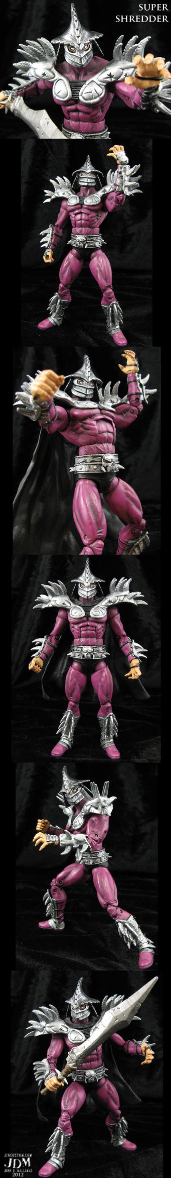 Super Shredder 2.0 movie style figure by Jin-Saotome