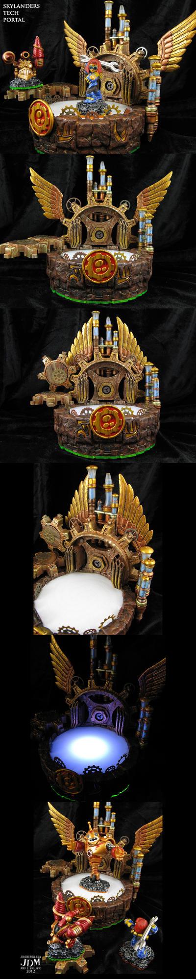 Steampunk Skylanders Tech Portal of Power by Jin-Saotome