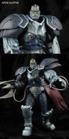 Custom Apocalypse Marvel movie style figure