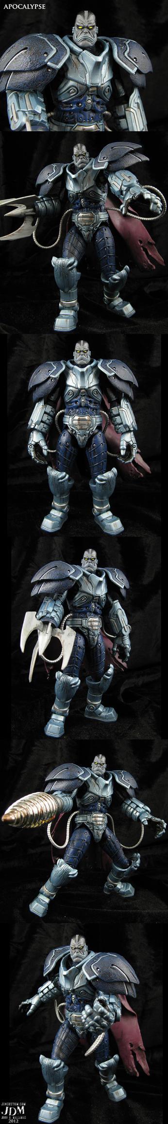 Custom Apocalypse Marvel movie style figure by Jin-Saotome