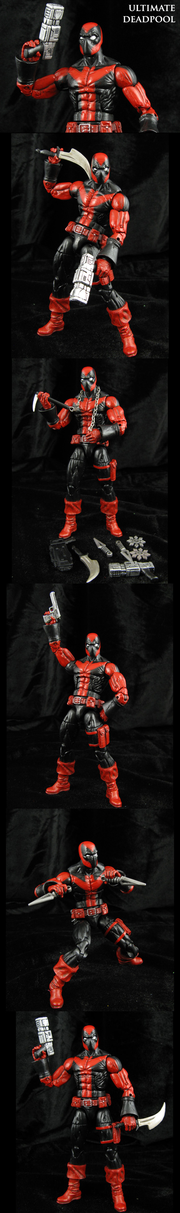 Custom Marvel legends Ultimate Deadpool by Jin-Saotome