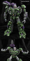 G2 style Movie Megatron Custom Figure by Jin-Saotome