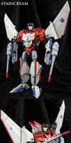 Voyager Generations Starscream Figure by Jin-Saotome