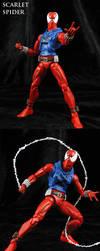 Custom Marvel Legends Scarlet Spider by Jin-Saotome
