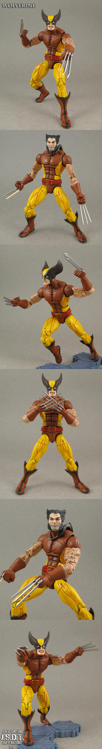 Custom X-Men Arcade Wolverine Figure by Jin-Saotome