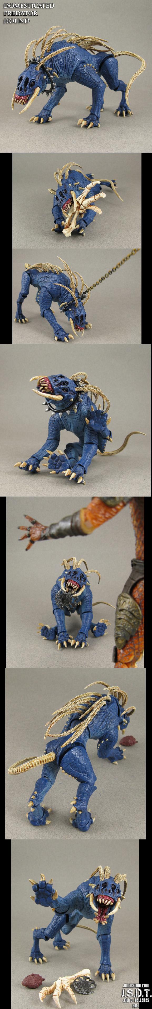 Custom Domesticated Predator Hound by Jin-Saotome