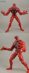 Eddie Brock Toxin Custom action figure by Jin-Saotome