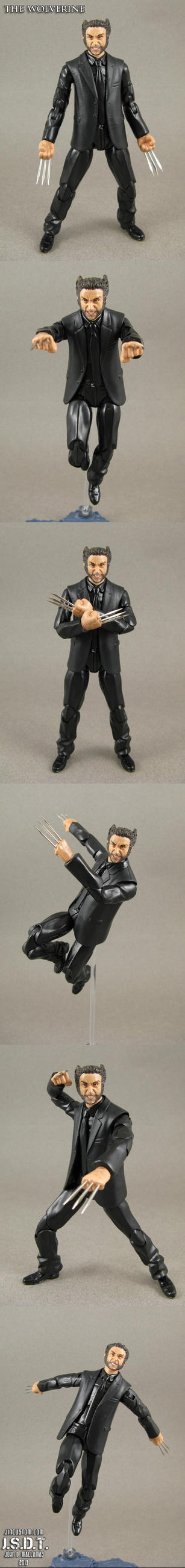 The Wolverine means business by Jin-Saotome