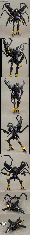 Transformers Prime Black Airachnid by Jin-Saotome