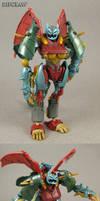Transformers Beast Hunters custom Ripclaw
