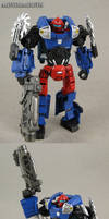 Custom Transformers G2 deluxe Motormouth