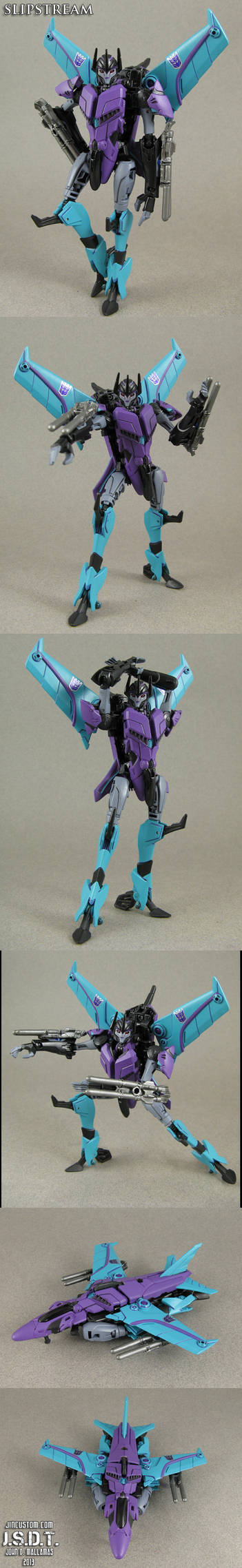 Custom Transformers Prime Slipstream Figure