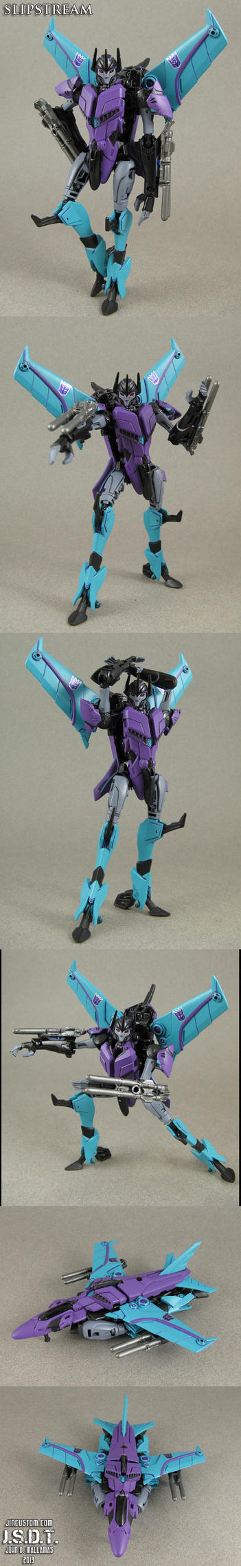 Custom Transformers Prime Slipstream Figure by Jin-Saotome