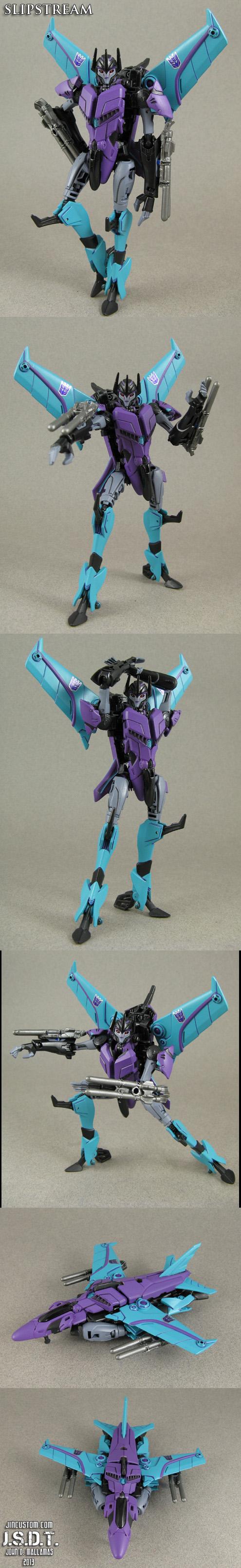 Custom Transformers Prime Slipstream Figure by Jin-Saotome