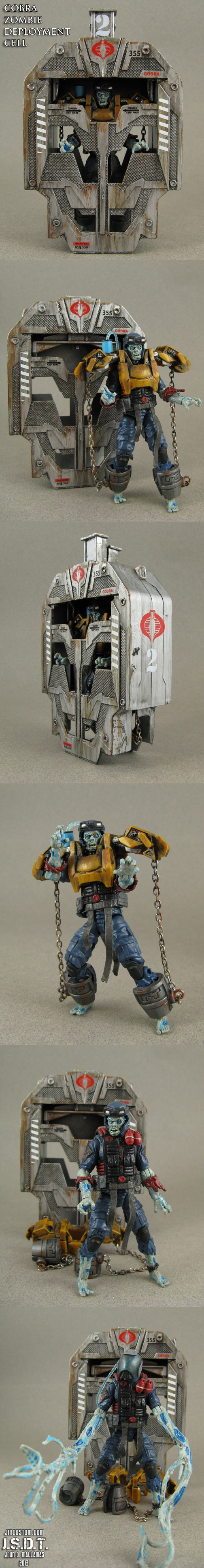 Custom Cobra Zombie Viper Deployment Cell by Jin-Saotome