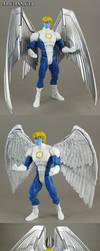 Custom Marvel Legends 2013 Archangel figure by Jin-Saotome