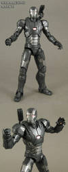 Iron man 3 War Machine mark II custom figure by Jin-Saotome