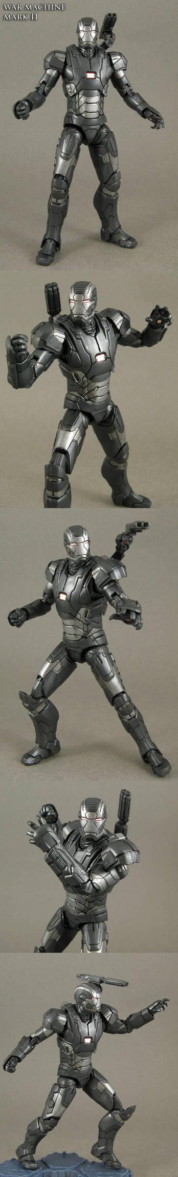 Iron man 3 War Machine mark II custom figure