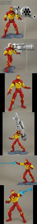 Custom Proton Cannon MvC2 Iron Man figure