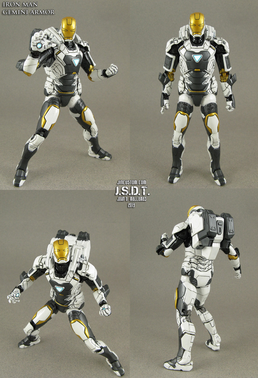 Iron Man 3 Gemini Deep Space Armor by Jin-Saotome