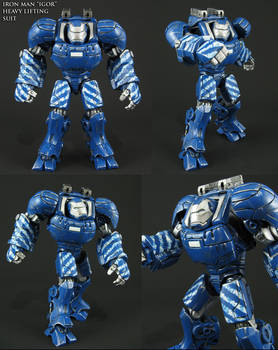 Custom Iron Man 3 Igor Heavy Lifting Armor figure