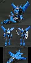Transformers Starcee custom Arcee jet mode