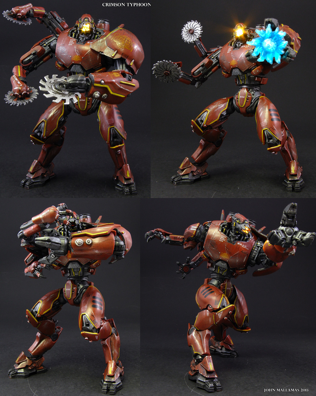 Custom Pacific Rim Crimson Typhoon action figure by Jin ...