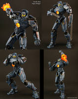 Custom Pacific Rim Gipsy Danger figure