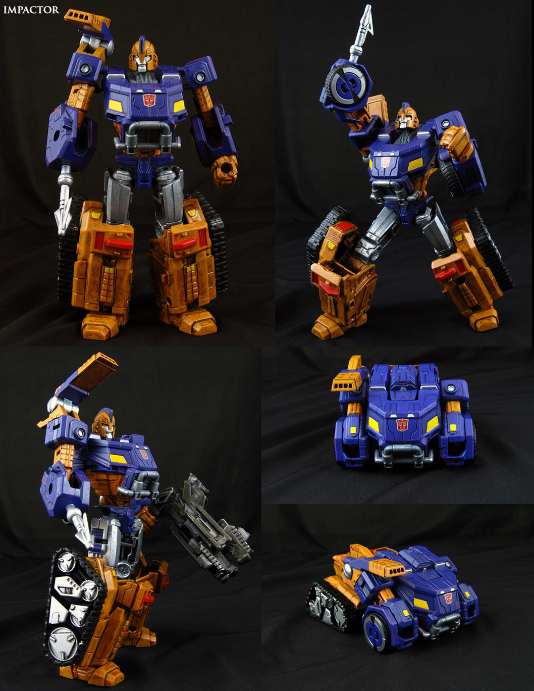 Custom Transformers Impactor Figure by Jin-Saotome