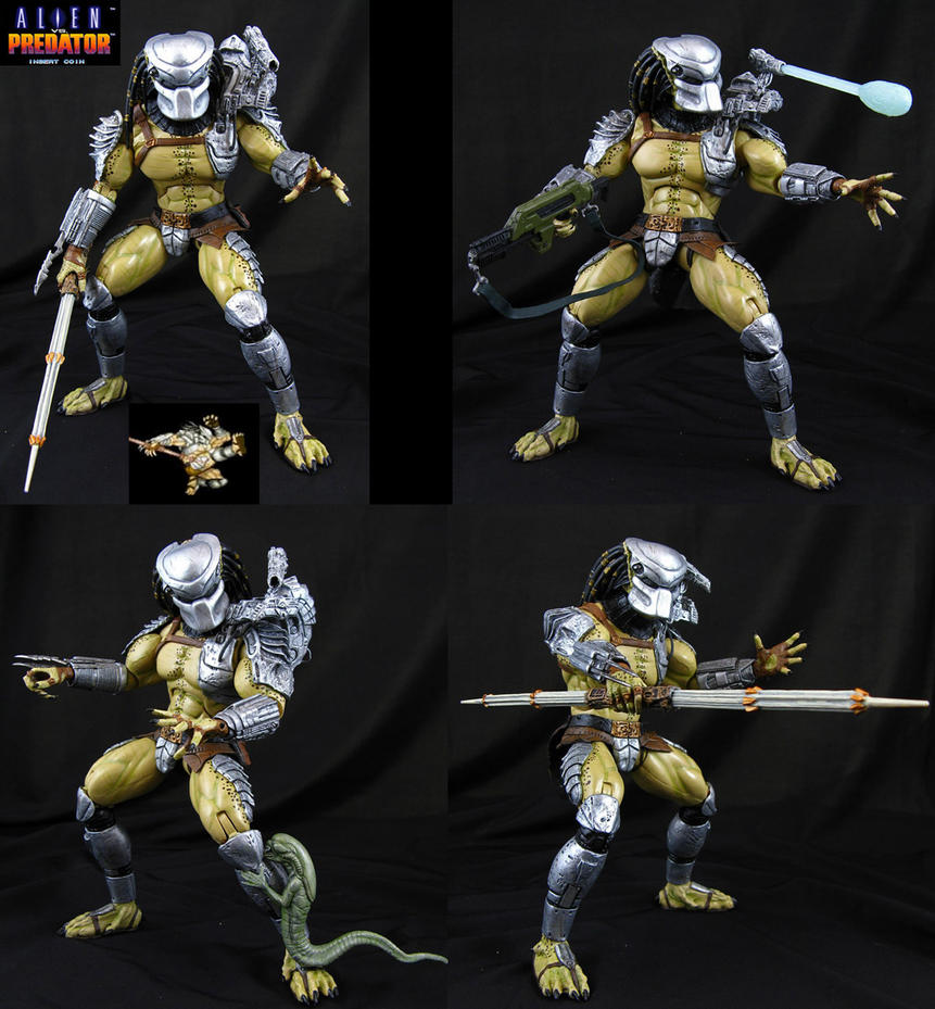 Alien vs Predator Arcade Warrior figure by Jin-Saotome