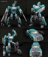 Custom Wreckers Reformatted Kup Figure by Jin-Saotome