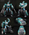 Custom Wreckers Reformatted Kup Figure