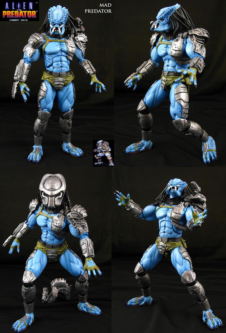 AvP Arcade Custom Mad Predator figure by Jin-Saotome