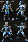 AvP Arcade Custom Mad Predator figure
