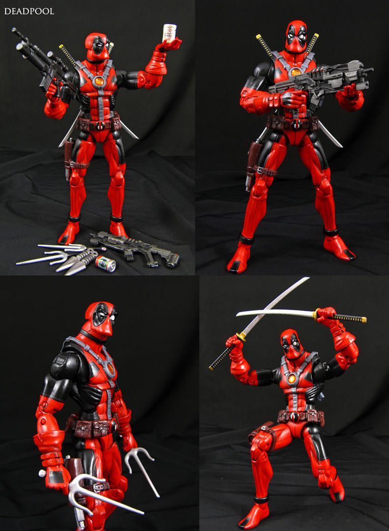 Deadpool custom Marvel Legends figure by Jin-Saotome