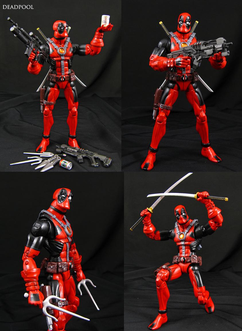 Deadpool custom Marvel Legends figure by Jin-Saotome