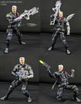 Custom Cable Tacticool Marvel legends figure