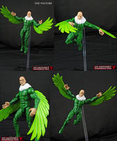 Custom Marvel universe Vulture by Jin-Saotome