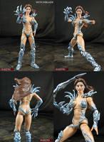 Custom Witchblade Sarah Pezzini figure by Jin-Saotome