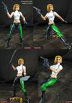 Custom Danger Girl Abbey Chase action figure
