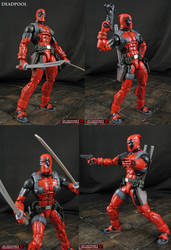 Custom Marvel Legends Deadpool VS figure by Jin-Saotome