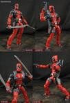 Custom Marvel Legends Deadpool VS figure