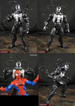 Custom Venom Marvel Legends Infinite Figure