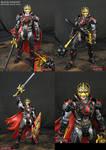 Custom Movie style Avengers Black Knight figure