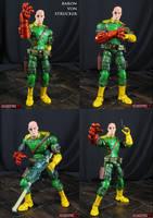 Baron Von Strucker Custom Marvel Legends figure by Jin-Saotome