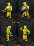 AIM Technician custom marvel legends action figure